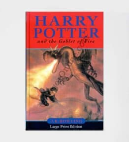 Harry Potter & the Goblet of Fire First Edition UK