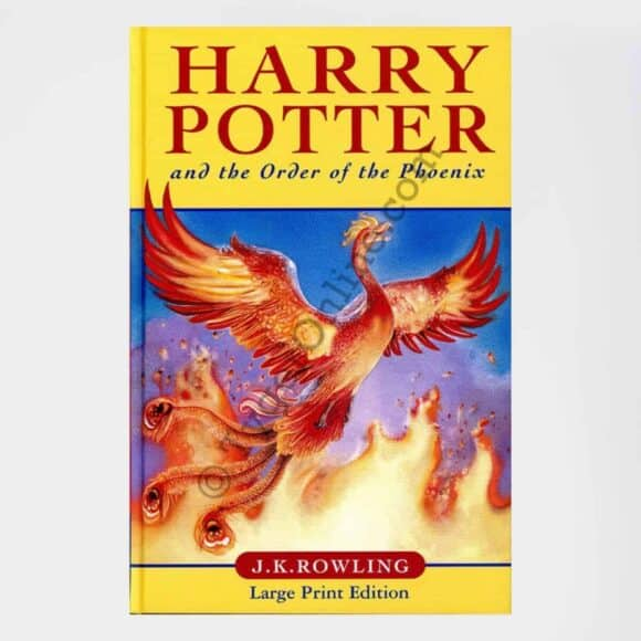 Harry Potter and the Order of Phoenix Large Print UK Bloomsbury 1st Edition 1st Print: by J.K. Rowling (Author)