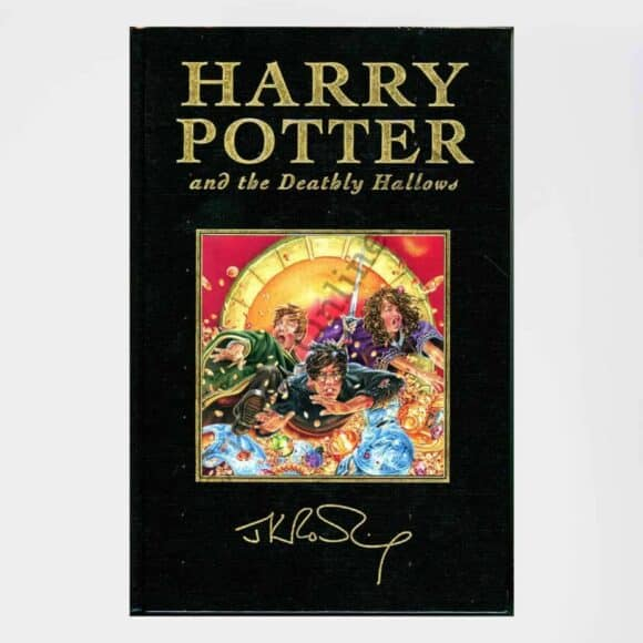 Harry Potter and the Deathly Hallows DELUXE UK Bloomsbury 1st Edition 1st Print: by J.K. Rowling (Author)