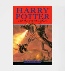 Harry Potter and the Goblet of Fire 1st Edition: by JK Rowling