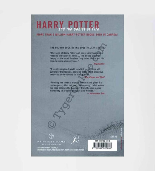 Harry Potter and the Goblet of Fire Adult 1st Edition: by J.K. Rowling (Author)