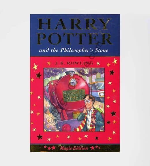 Harry Potter and the Philosopher's Stone 1st Edition Magic Edition: by J.K. Rowling (Author)