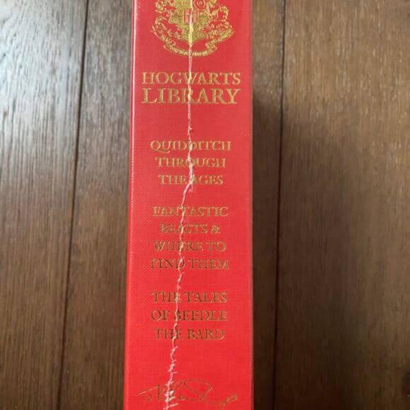 9781408834824 Harry Potter Hogwarts Box Set Sealed - Spine